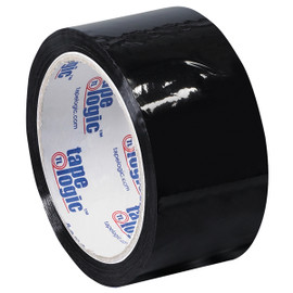 Tape Logic Black Carton Sealing Tape 2 inch x 55 yard (6 Pack)
