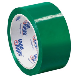 Tape Logic Green Carton Sealing Tape 2 inch x 55 yard (36 Roll/Pack)