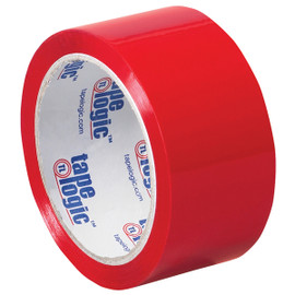 Tape Logic Red Carton Sealing Tape 2 inch x 55 yard (6 Pack)
