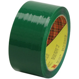 Carton Sealing Tape 3M 373 Green 2 inch x 55 yard Roll (6 Roll/Pack)