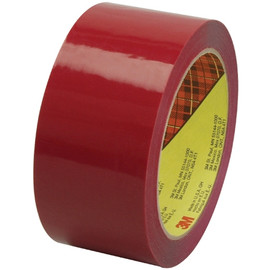 Carton Sealing Tape 3M 373 Red 2 inch x 55 yard Roll (36 Roll/Pack)
