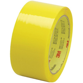 Carton Sealing Tape 3M 373 Yellow 2 inch x 55 yard Roll (6 Roll/Pack)