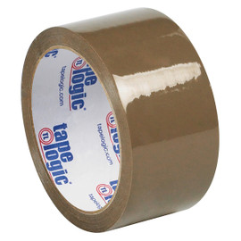 Tape Logic #53 PVC Natural Rubber Tape Tan 2 inch x 55 yard Roll (6 Pack)