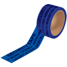 Tape Logic Secure Tape Blue 2 inch x 60 yard Roll (36 Roll/Pack)