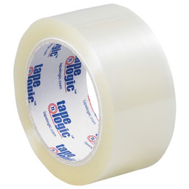 Tape Logic #160 Industrial Carton Sealing Tape Clear 2 inch x 110 yard (6 Pack)