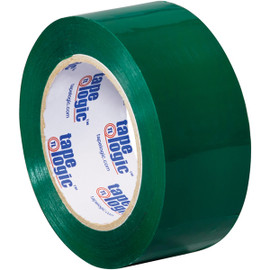 Tape Logic Green Carton Sealing Tape 2 inch x 110 yard (36 Roll/Pack)