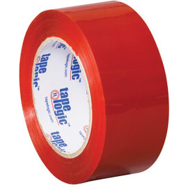 Tape Logic Red Carton Sealing Tape 2 inch x 110 yard (36 Roll/Pack)