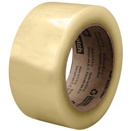 3M 3073 Carton Sealing Tape Clear 2 inch x 110 yard Roll (36 Roll/Pack)