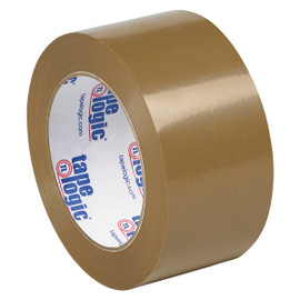 Tape Logic #50 Natural Rubber Tape Tan 2 inch x 110 yard (36 Roll/Pack)
