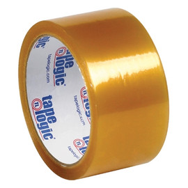 Tape Logic #53 PVC Natural Rubber Tape Clear 2 inch x 110 yard Roll (36 Roll/Pack)