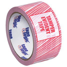 Tape Logic Security Tape  inchTamper Evident inch 2 inch x 110 yard Roll (36 Roll/Pack)