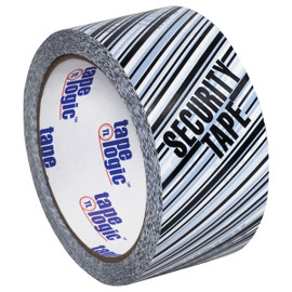 Tape Logic Security Tape  inchSecurity Tape inch Print 2 inch x 110 yard Roll (6 Pack)