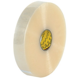 3M 313 Carton Sealing Tape Clear 2 inch x 1000 yard Roll (6 Roll/Pack)