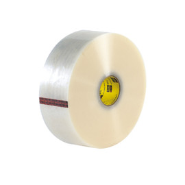3M 371 Carton Sealing Tape Clear 3 inch x 1000 yard Roll (4 Roll/Pack)
