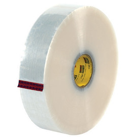 3M 375 Carton Sealing Tape Clear 3 inch x 1000 yard Roll (4 Roll/Pack)
