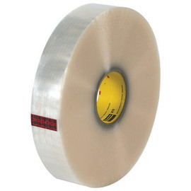 3M 372 Carton Sealing Tape Clear 2 inch x 1000 yard Roll (6 Roll/Pack)