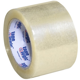 Tape Logic #170 Industrial Carton Sealing Tape Clear 3 inch x 110 yard (24 Roll/Pack)