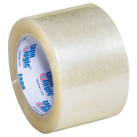 Tape Logic #220 Industrial Carton Sealing Tape Clear 3 inch x 110 yard (24 Roll/Pack)