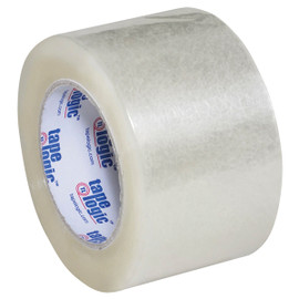 Tape Logic #291 Industrial Carton Sealing Tape Clear 3 inch x 110 yard (24 Roll/Pack)