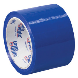 Tape Logic Blue Carton Sealing Tape 3 inch x 55 yard (24 Roll/Pack)