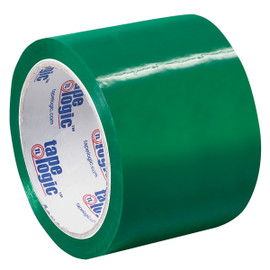 Tape Logic Green Carton Sealing Tape 3 inch x 55 yard (24 Roll/Pack)