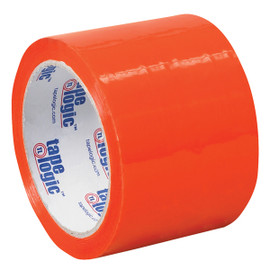 Tape Logic Orange Carton Sealing Tape 3 inch x 55 yard (6 Pack)