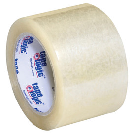Tape Logic #350 Industrial Carton Sealing Tape Clear 3 inch x 55 yard (6 Pack)