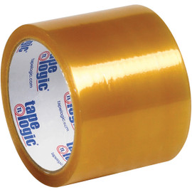 Tape Logic #53 PVC Natural Rubber Tape Clear 3 inch x 55 yard Roll (24 Roll/Pack)