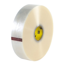 3M 371 Carton Sealing Tape Clear 2 inch x 1500 yard Roll (6 Roll/Pack)