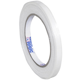Tape Logic 1300 Strapping Tape 3/8 inch x 60 yard (12 Roll/Pack)