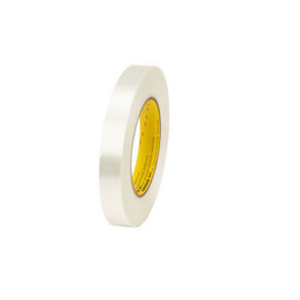 3M 893 Strapping Tape 3/8 inch x 60 yard (96 Roll/Pack)