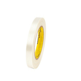 3M 897 Strapping Tape 3/8 inch x 60 yard (96 Roll/Pack)