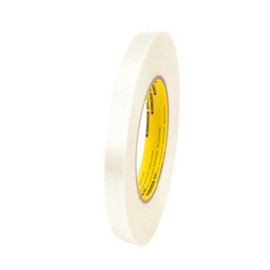 3M 898 Strapping Tape 3/8 inch x 60 yard (96 Roll/Pack)