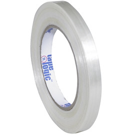 Tape Logic 1550 Strapping Tape 1/2 inch x 60 yard (72 Roll/Pack)