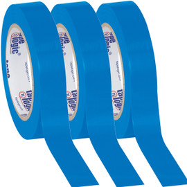 Tape Logic Blue Solid Vinyl Safety Tape 1 inch x 36 yard Roll (3 Pack)
