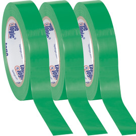 Tape Logic Green Solid Vinyl Safety Tape 1 inch x 36 yard Roll (3 Pack)