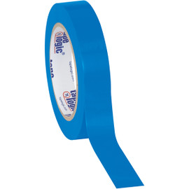 Tape Logic Blue Solid Vinyl Safety Tape 1 inch x 36 yard Roll (48 Roll/Pack)