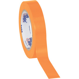 Tape Logic Orange Solid Vinyl Safety Tape 1 inch x 36 yard Roll (48 Roll/Pack)