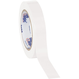 Tape Logic White Solid Vinyl Safety Tape 1 inch x 36 yard Roll (48 Roll/Pack)