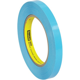 3M 8898 Poly Strapping Tape 1/2 inch x 60 yard (72 Roll/Pack)