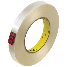 3M 890MSR Strapping Tape 3/4 inch x 60 yard (48 Roll/Pack)