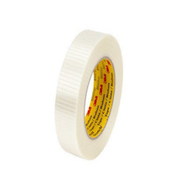 3M 8959 Bi-Directional Strapping Tape 3/4 inch x 60 yard (48 Roll/Pack)