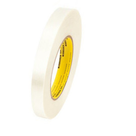 3M 898 Strapping Tape 3/4 inch x 60 yard (48 Roll/Pack)
