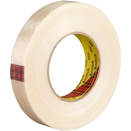 3M 880 Strapping Tape 1 inch x 60 yard (36 Roll/Pack)