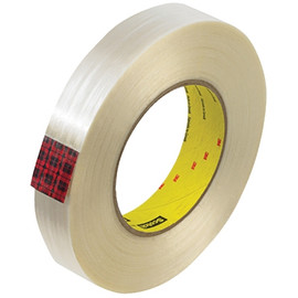 3M 890MSR Strapping Tape 1 inch x 60 yard (36 Roll/Pack)