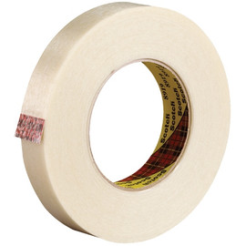 3M 8919 Strapping Tape 1 inch x 60 yard (36 Roll/Pack)