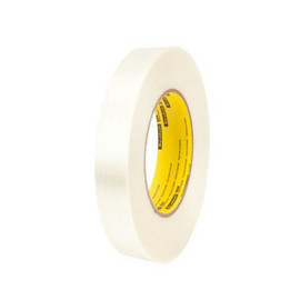 3M 898 Strapping Tape 1 inch x 60 yard (36 Roll/Pack)