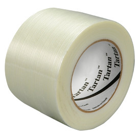 3M 8934 Strapping Tape 3 inch x 60 yard (12 Roll/Pack)