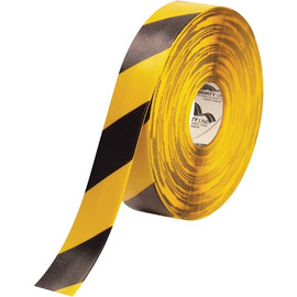 Mighty Line&#8482 Deluxe Safety Tape Yellow/Black 2 inch x 100 ft