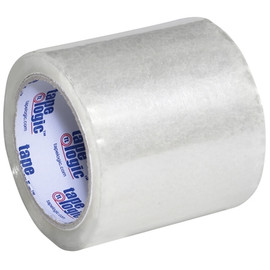 Tape Logic Clear 1.8 Mil Acrylic Tape 4 inch x 72 yard Roll (18 Roll/Pack)